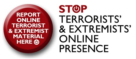 STOP Terrorists' & Extremists' Online Presence icon