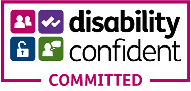Disability confident. Committed